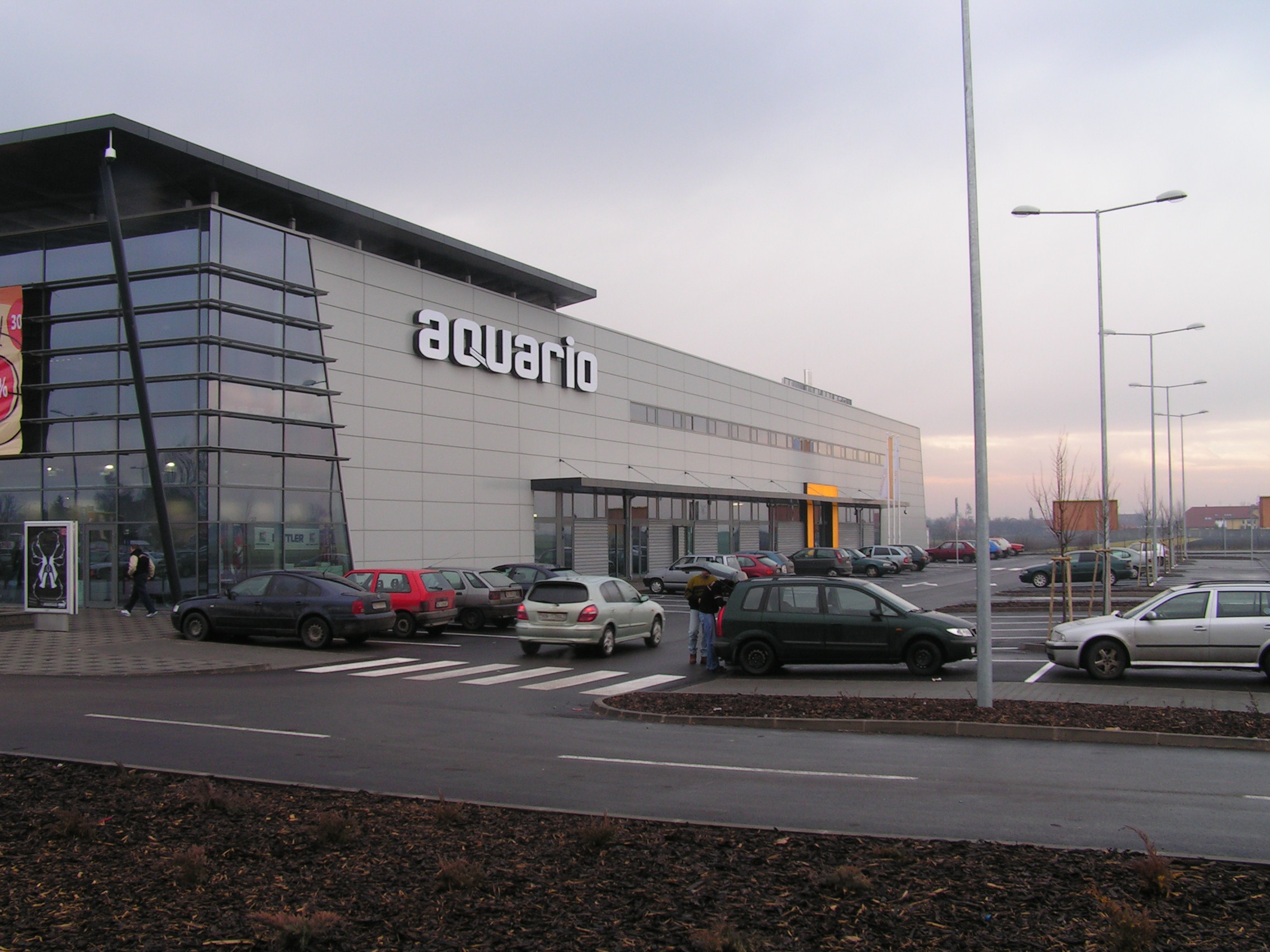 Aquario Shopping Center Nové Zámky - Hochbau